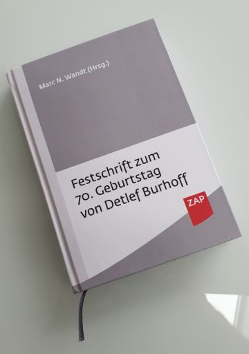 Festschrift für Detlef Burhoff