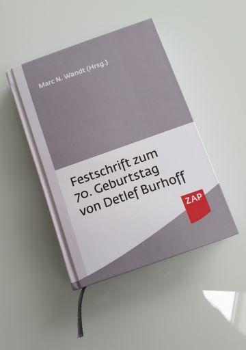Festschrift für Detlef Burhoff